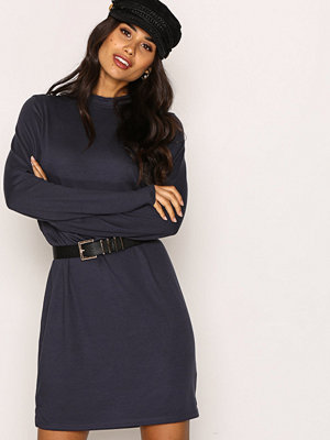 NLY Trend Loose Fit Polo Dress Grå