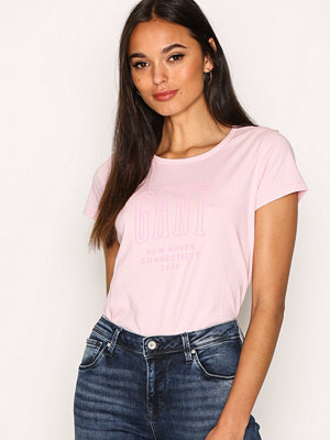 Gant O1. Gant New Haven Capsl. T-Shirt Pink