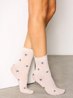 Strumpor - Vero Moda Vmglitter Star Socks Ljus Rosa