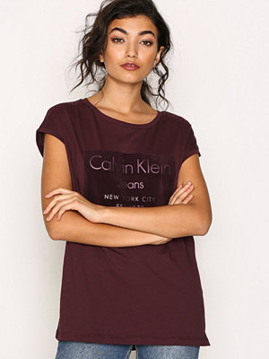 Toppar - Calvin Klein Jeans Tika-22 Cn Lwk S/S Fig