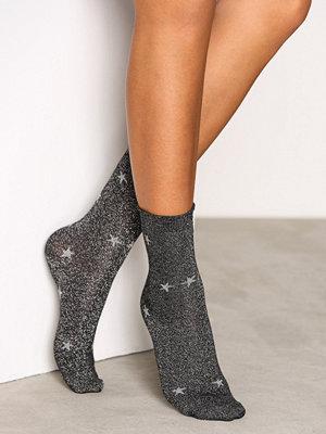 Strumpor - Vero Moda Vmglitter Star Socks Svart
