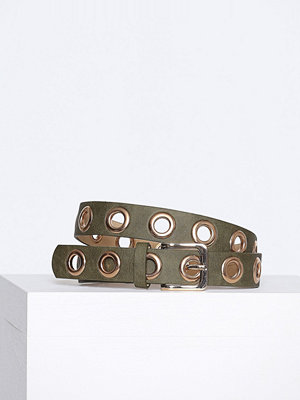Bälten & skärp - Pieces Pcnicole Jeans Belt Grön