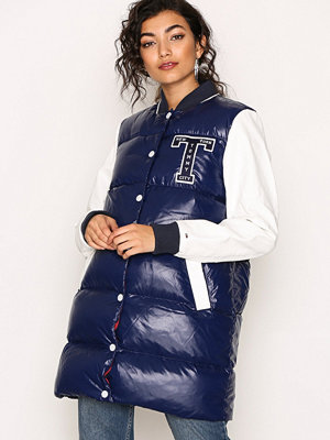 Tommy Jeans THDW Down Bomber Blue/White