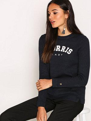 Tröjor - Morris Lady Logo Blue