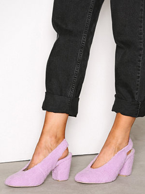 NLY Shoes Teddy Pump Lilac