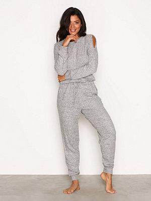 Pyjamas & myskläder - Hunkemöller Jersey Onesie Grå