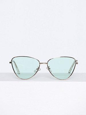 Solglasögon - Le Specs Echo Blå/Guld