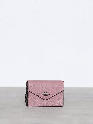 Plånböcker - Coach Envelope Card Case Dusty Rose