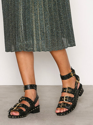 Topshop Buckle Sandals Black