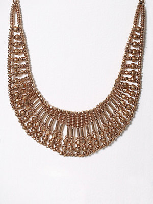 Pieces halsband Pcnicole Necklace Guld