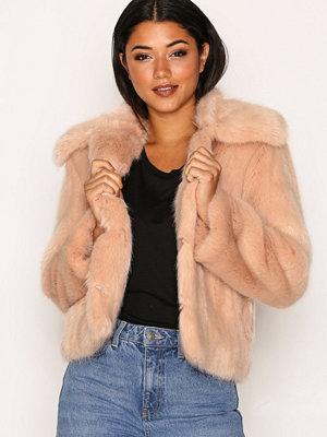 Topshop LX Fur Beige