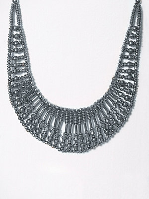Pieces halsband Pcnicole Necklace Silver