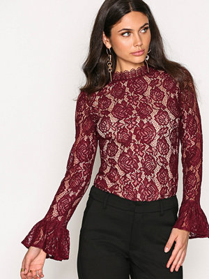 Blusar - Dry Lake Mythology Blouse Burgundy