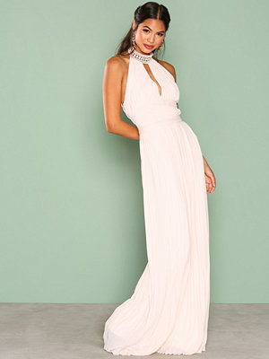 TFNC Corrine Maxi Dress Light Beige
