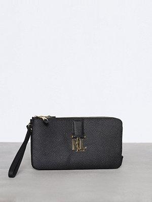 Lauren Ralph Lauren svart kuvertväska Double Zip Wristlet Black
