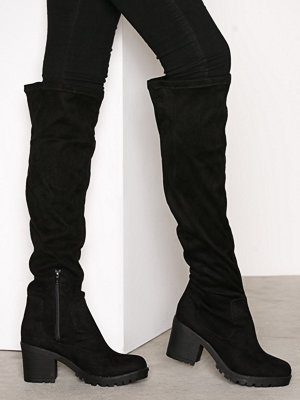 Stövlar & stövletter - Duffy Knee High Boot Svart