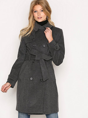 Lauren Ralph Lauren BLTD Wool Cashmere Coat Grey