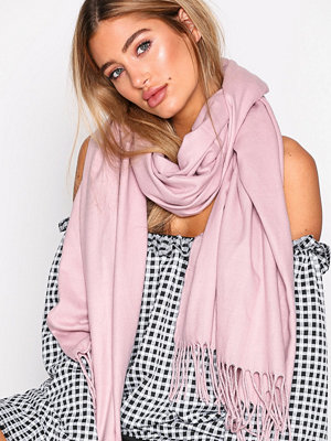Halsdukar & scarves - NLY Accessories Classy Solid Scarf Dusty Pink