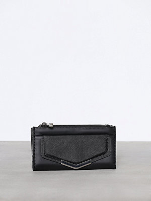 Topshop Metal Pront Pocket Purse Black