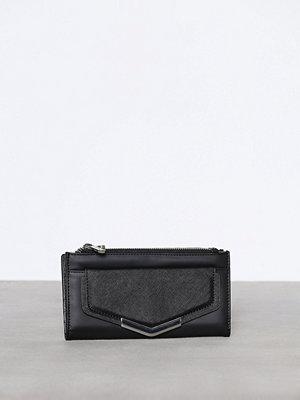 Plånböcker - Topshop Metal Pront Pocket Purse Black