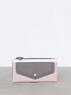Topshop Front Pocket Block Purse Pink