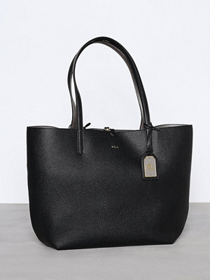Lauren Ralph Lauren Olivia Medium Tote Black