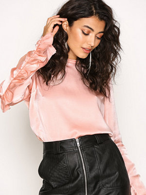 NLY Trend The Look Blouse Ljus Rosa