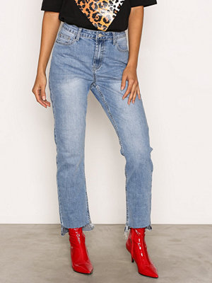 Glamorous Mom Jeans Mid Blue