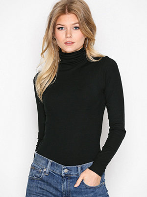 Polo Ralph Lauren Long Sleeve Knit Top Black