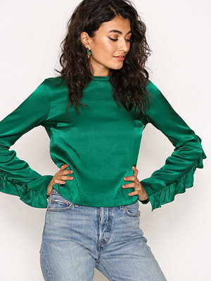 NLY Trend The Look Blouse Petrol