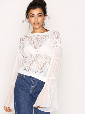 Free People Something Like Love Ivory