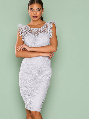 Chi Chi London Thea Dress Grey