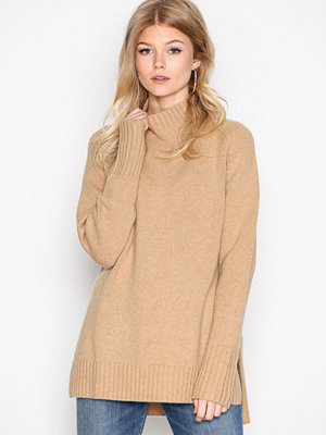 Polo Ralph Lauren Long Sleeve Mock Neck Sweater Camel
