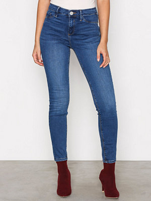 River Island Molly Skinny Jeggings Denim
