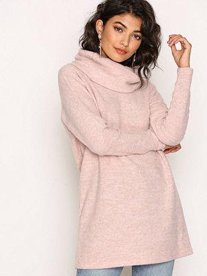 Only onlIDA L/S Long Pullover Knt Ljus Rosa