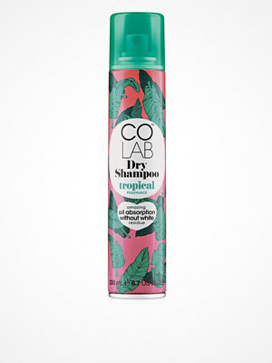 Hårprodukter - COLAB Tropical Dry Schampoo 200ml Transparent