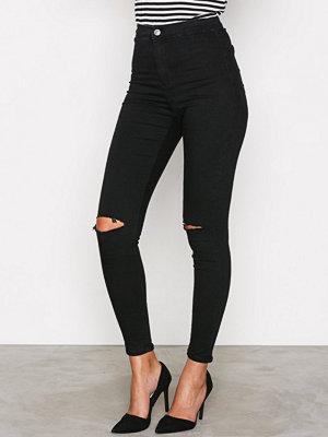 Topshop Rip Jon Jeans Black