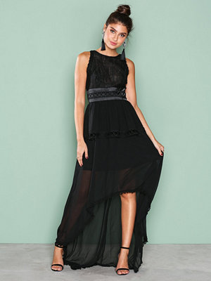True Decadence Sleeveless Mesh Dress Black