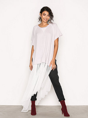 Free People Dance With Me Tee White