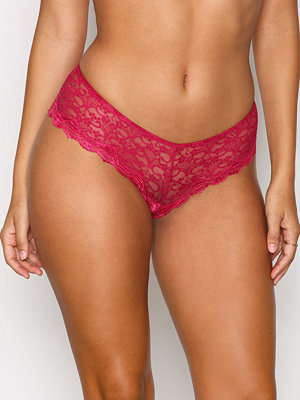 NLY Lingerie Back Detail Lace Panty Sangria