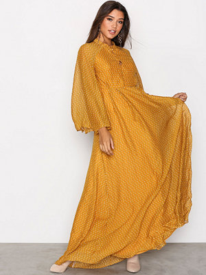 Y.a.s Yasglowa Maxi Dress Orange