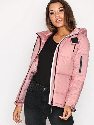 Dunjackor - d.brand Eskimå Down Jacket Dusty Pink