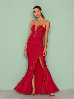 Forever Unique Alanis Dress Red