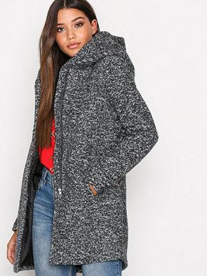 Only onlINDIE Noma Wool Coat Cc Otw Mörk Grå