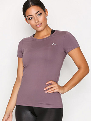 Only onpCLARISSA Ss Training Tee - Opus Ljus Lila