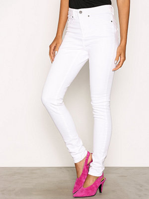 NLY Trend Superstretch High W Denim Vit