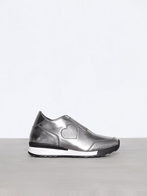 Sneakers & streetskor - Love Moschino Silver Sneakers Silver