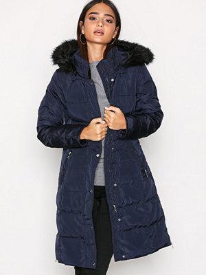 Lauren Ralph Lauren Dwn Wst Dtl Wool Coat Navy