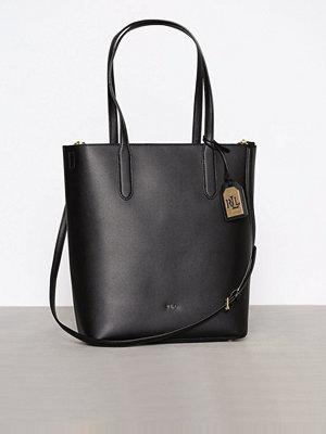 Handväskor - Lauren Ralph Lauren Alexis Medium Tote Black