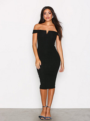 Ax Paris Bardot Midi Dress
